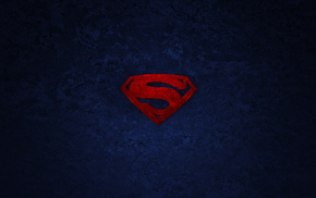 Superman, minimalism, superhero, background