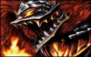 Berserk, sword, anime, Guts, Kentaro Miura