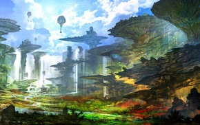 Chrono Cross, artwork, fantasy art, feng zhu, concept art, digital art