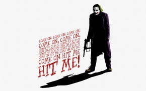 Batman, The Dark Knight, Joker, Heath Ledger, quote, MessenjahMatt