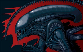 aliens, fantasy art, concept art, artwork, Xenomorph, Alien movie