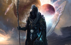 warrior, fantasy art, artwork