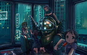 Little Sister, BioShock 2, Big Daddy, BioShock, video games