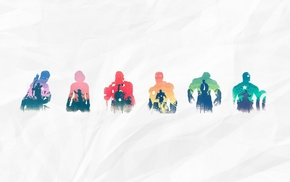 Hawkeye, Hulk, Thor, Loki, Nick Fury, Iron Man