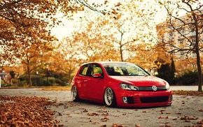 Stance, fall, Golf VI, Volkswagen, Golf GTI