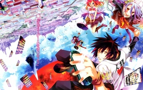 No Game No Life, Stephanie Dora, Kurami Zell, Shiro No Game No Life, Sora No Game No Life