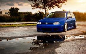 Stance, Volkswagen, Golf GTI, Golf IV