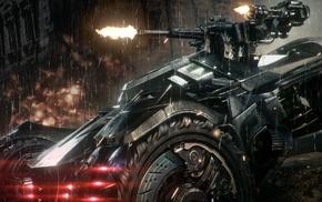 Batman, Scarecrow character, Batmobile, video games, Gotham City, Batman Arkham Knight