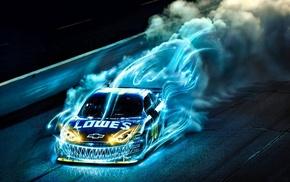 speed, cars, race, blue