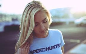 блондинка, девушка