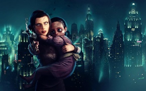 Rapture, BioShock Infinite, video games, Elizabeth BioShock, Little Sister, BioShock