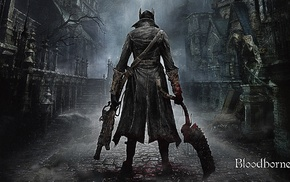 video games, Bloodborne, PlayStation 4