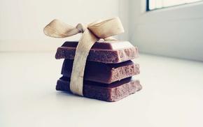 chocolate, sweet, gift, sweets, macro