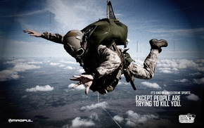 magpul, rifles, war, skydiving