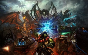 StarCraft, World of Warcraft, Warcraft, эльфы