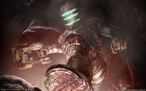 Dead Space, video games, blood