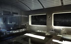 futuristic, CGI, space