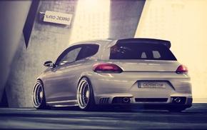 Volkswagen, Scirocco, low ride