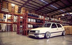 Volkswagen, golf, Stance