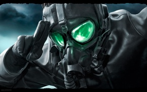 Romantically Apocalyptic, gas masks, apocalyptic, Vitaly S Alexius, salute