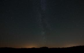 природа, пейзаж, ночь, небо