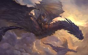 concept art, dragon, fantasy art, artwork
