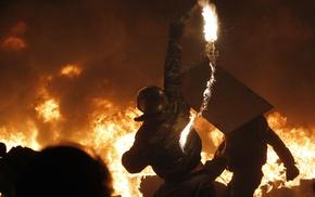 огонь, Украина