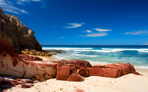 океан, Hd wallpapers, камни, берег, море, фотографии