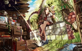 школьная форма, девушки из аниме, оригинальные персонажи, аниме