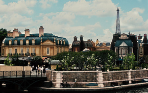 cities, embankment, city, trees, Paris