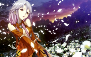 anime girls, Guilty Crown, Yuzuriha Inori, anime