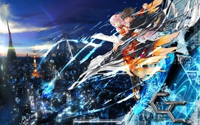 anime girls, anime, Ouma Shuu, Guilty Crown, Yuzuriha Inori