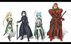 Kirigaya Kazuto, Sword Art Online, Kirigaya Suguha, anime girls, anime, Asada Shino