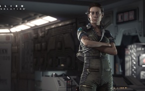 aliens, Alien movie, Alien Isolation, Xenomorph, Amanda Ripley, video games