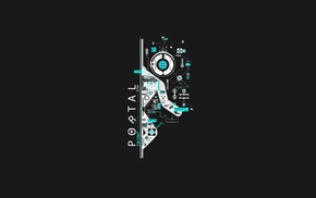 Portal, Portal 2, circuits, video games, GLaDOS, Valve Corporation