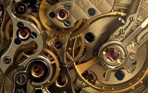 photography, clockwork, gold, clocks