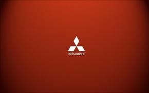 logo, Mitsubishi, minimalism
