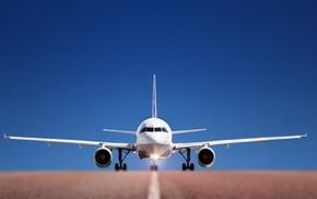airplanes, дорога, sky wallpapers, аэропорт, roads, взлётная