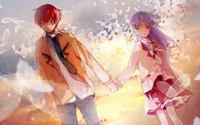 Tachibana Kanade, Otonashi Yuzuru, anime, Angel Beats