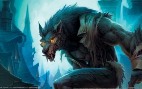 игры, blizzard, ворген, worgen, cataclysm, World of warcraft