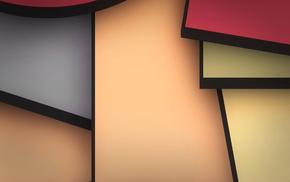 3D, colors, abstraction, wallpaper, texture