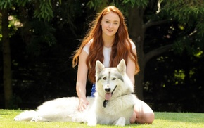 redhead, actress, Game of Thrones, girl, Sansa Stark, Sophie Turner