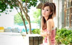 Азия, девушка