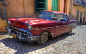 car, cars, automobile, retro, wallpaper