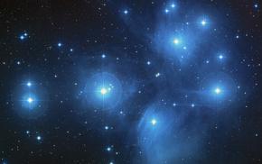 space, galaxy, nebula