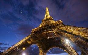 France, architecture, Eiffel Tower, Paris, city
