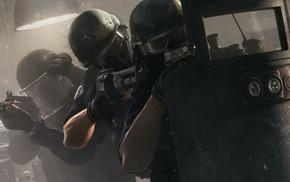 Tom Clancy, SWAT, video games, Rainbow Six Siege