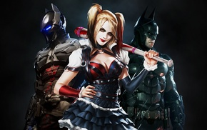 video games, Batman Arkham Knight, Batman, Rocksteady Studios, Harley Quinn