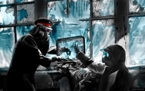 apocalyptic, Romantically Apocalyptic, Vitaly S Alexius, gas masks