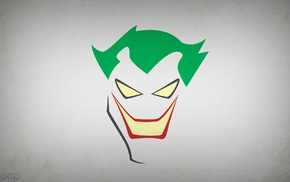 simple background, Joker, Blo0p, DC Comics, Batman, minimalism